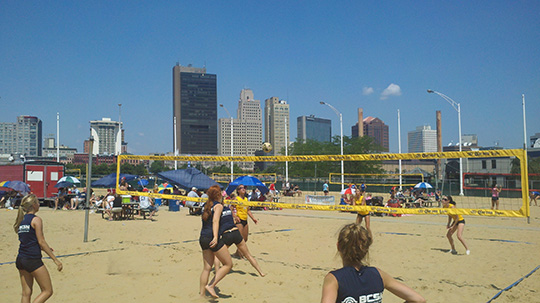 Independence Park: The Beach (Toledo)